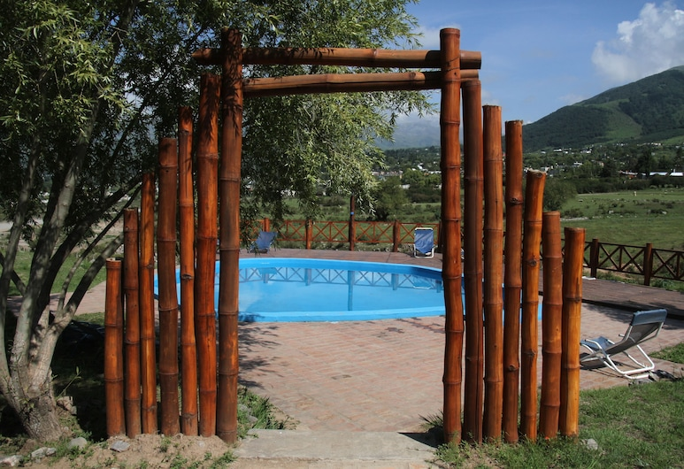 Posada La Guadalupe, Tafi del Valle, Utendørsbasseng