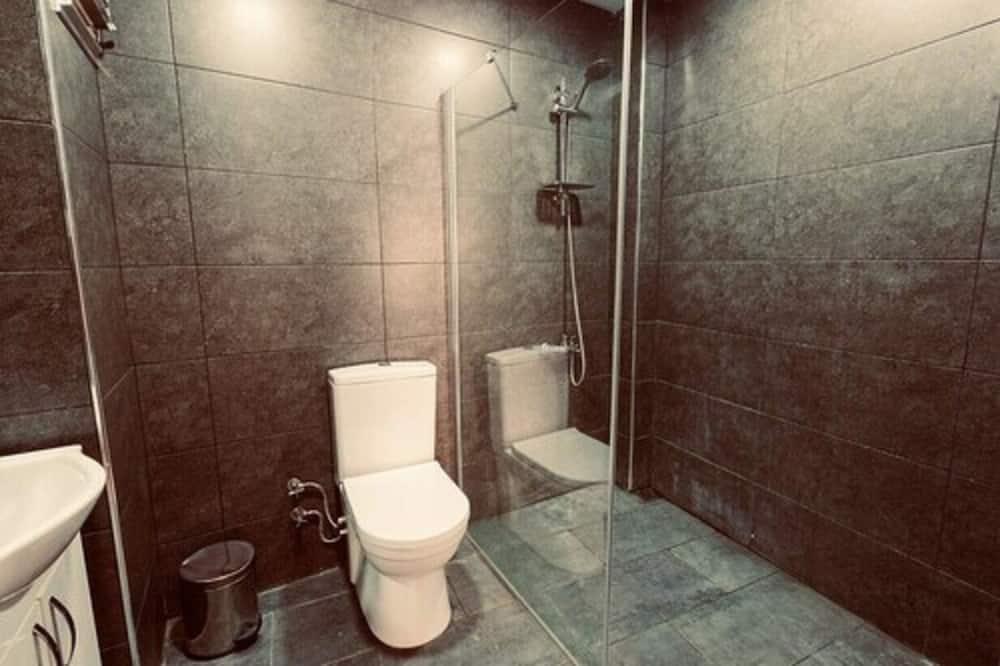Jednolôžková izba typu Basic, spoločná kúpeľňa - Kúpeľňa