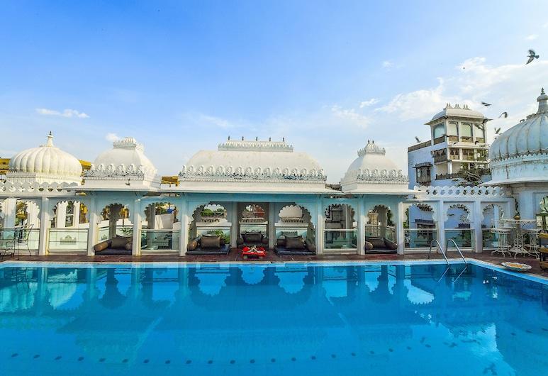 Hotel Udai Kothi, Udaipur, Udendørs pool