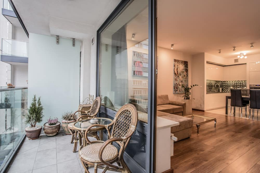 Apartament typu Deluxe, 1 sypialnia - Balkon
