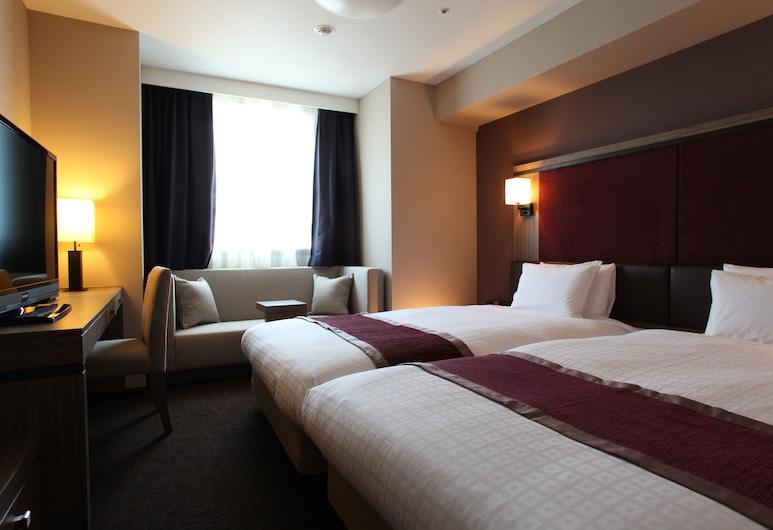Daiwa Roynet Hotel Sapporo Susukino, Sapporo, Twin Room, 2 Large Twin Beds, Non Smoking (26sqm), Guest Room