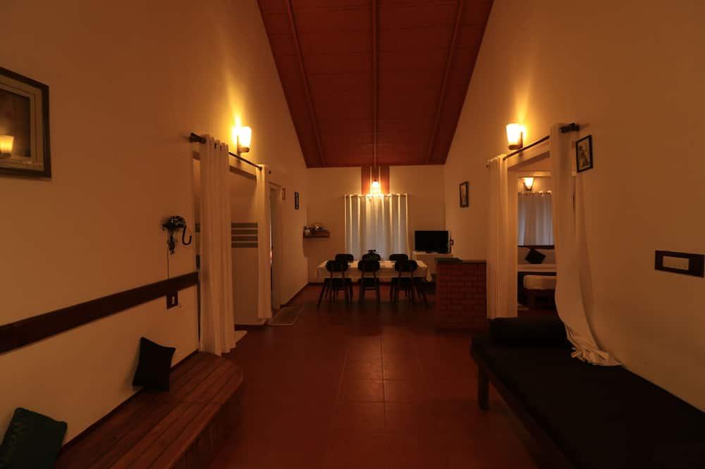 Villa familiar, 3 habitaciones, vistas al jardín - Sala de estar