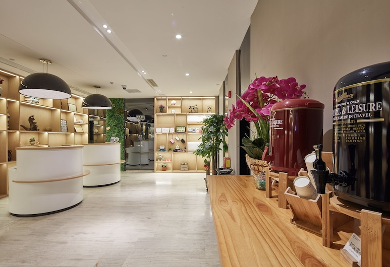 迎商酒店 (廣州琶洲會展中心客村地鐵站麗影店), 廣州市, 櫃台