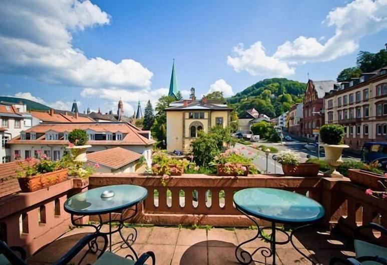 Hotel Monpti, Heidelberg, Teras/Veranda