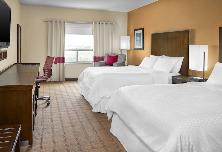Four Points By Sheraton Edmonton Gateway, Edmonton, Room, 2 Queen Beds, Non Smoking, Guest Room