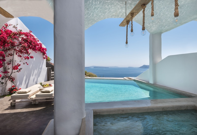Andronis Boutique Hotel, Santorini, Suite, Private Pool (Prestige), Guest Room View