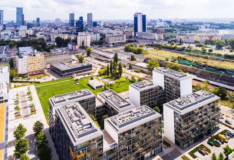 Warsaw Design Apartments, Varšava, Exteriér