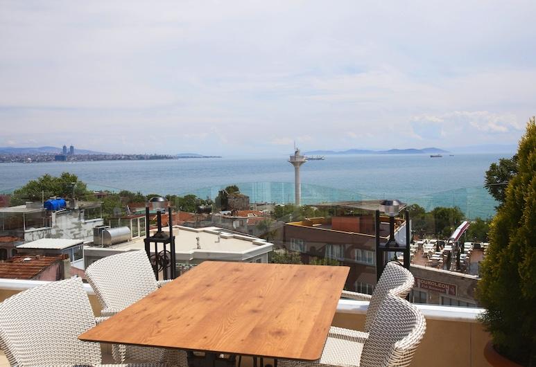 Aren Suites, Istanbul, Terrasse/veranda