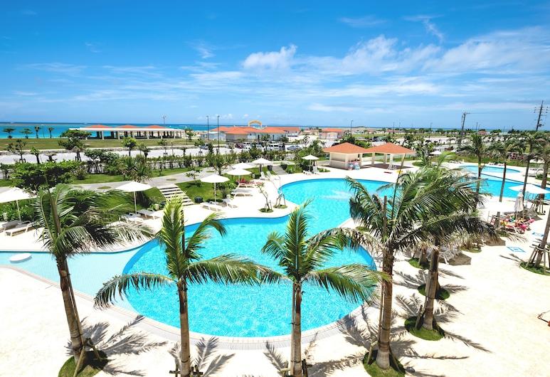沖繩南海灘飯店及渡假村, 糸滿, 室外游泳池