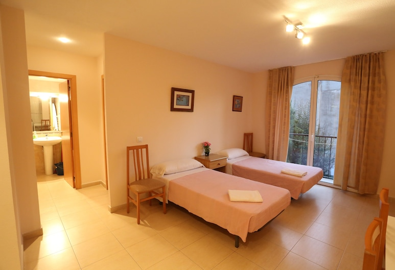 로얄 인 아파트호텔, 르로레트데 마르, 아파트, 침실 1개 (5 personas), 객실