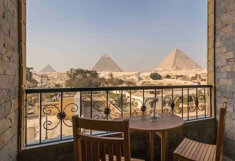 Pyramids View inn Bed & Breakfast, Giza, Panoramic Single Room, 1 Twin Bed, Balcony, Guest Room