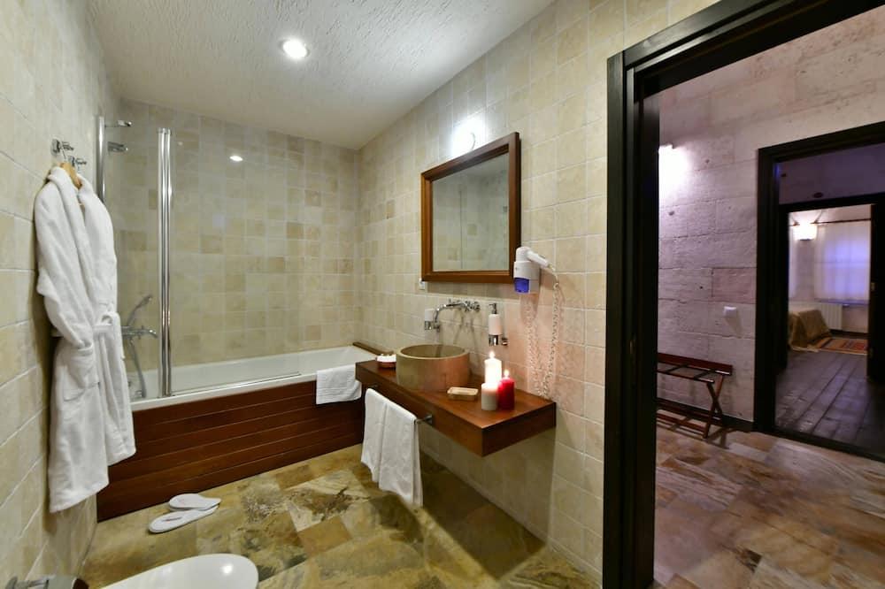 Familien-Maisonette, 2Schlafzimmer - Privater Whirlpool