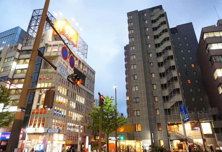 ホテルアセント福岡, 福岡市, ストリート ビュー