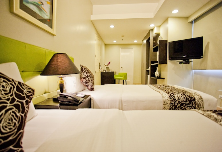 The Exchange Regency Residence Hotel, Pasig, Classic Twin soba, Soba za goste