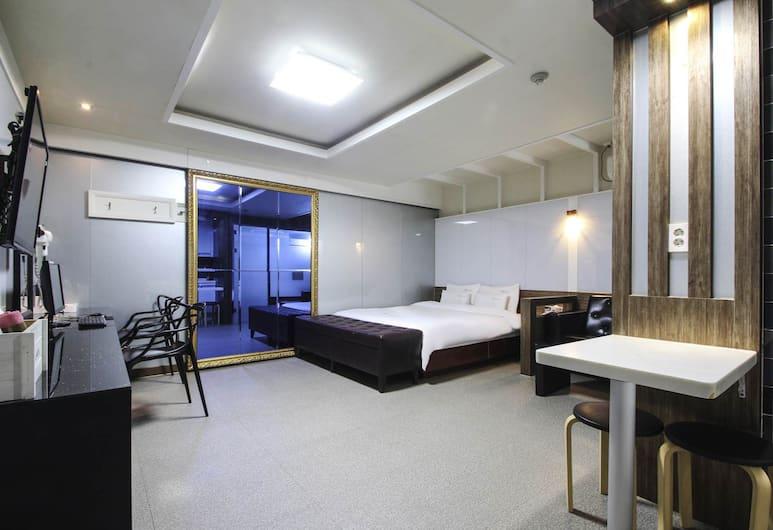 Haeundae WA Hotel, Busan, Deluxe tweepersoonskamer, Kamer