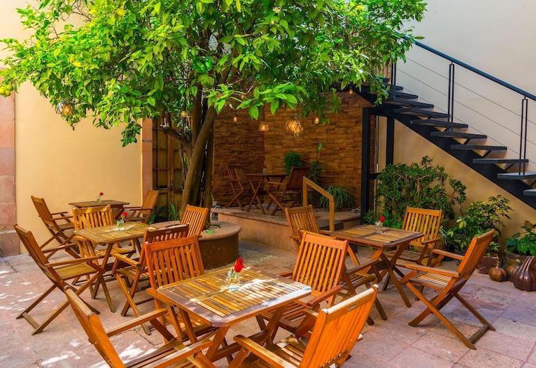Hotel Boutique La Casa del Naranjo, Queretaro, Teras/Veranda