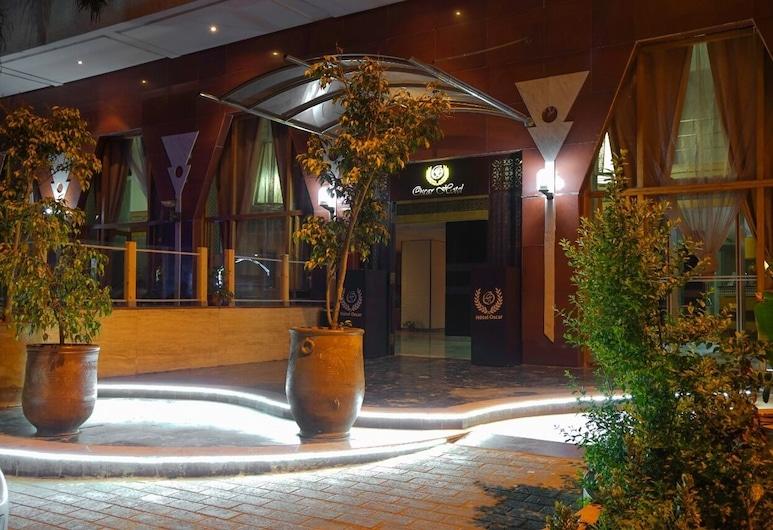 Hôtel Oscar, Rabat, Entrada del hotel