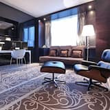 Senioru luksusa numurs, 1 divguļamā gulta, piekļuve darījumklases salonam - Dzīvojamā zona