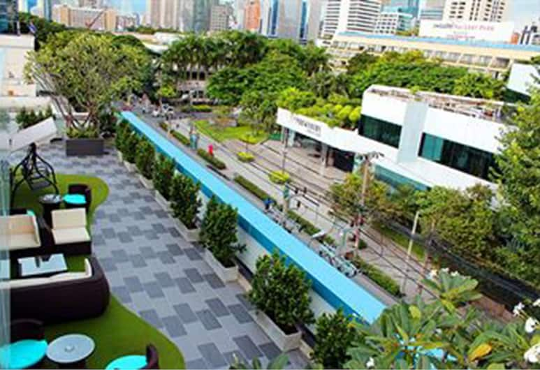 ザ ムーナイト ブティック ホテル, バンコク, ホテルからの眺望