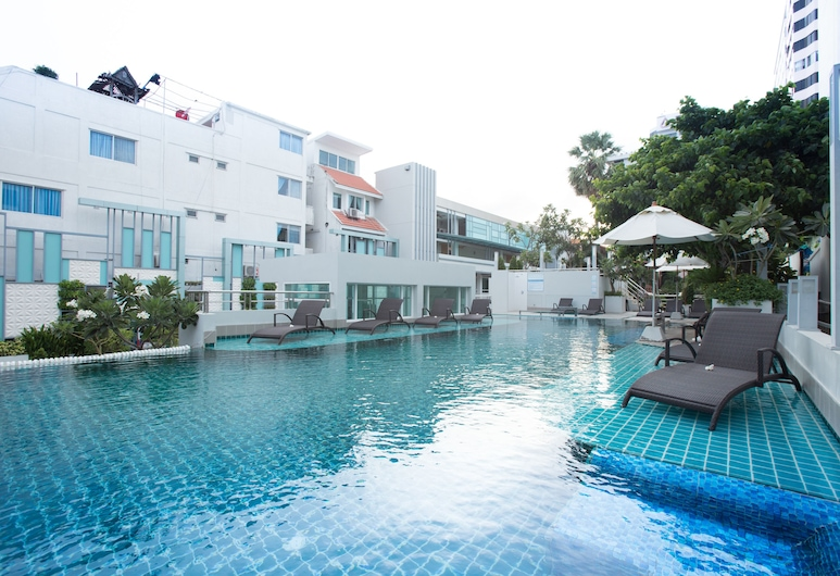 亞洲察安酒店, 七岩, 室外泳池