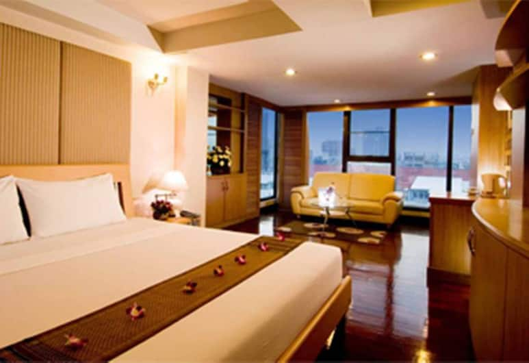 Win Long Place Serviced Apartment, Bangkok, Executive Suite , Pokój