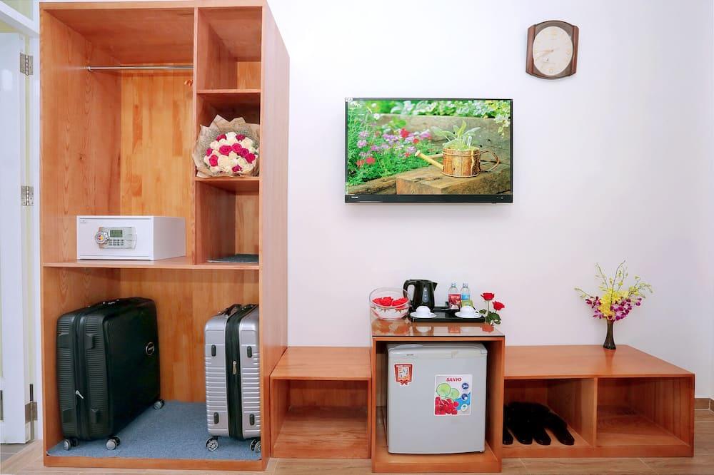 Deluxe-værelse - 2 dobbeltsenge - Opholdsområde