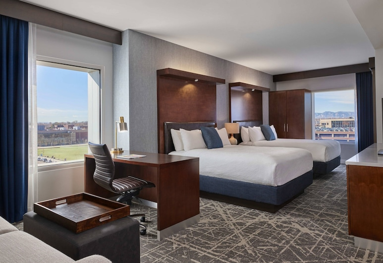 SpringHill Suites by Marriott Denver Downtown, Denver, Deluxe Suite, 2 Queen Beds, Non Smoking, Guest Room