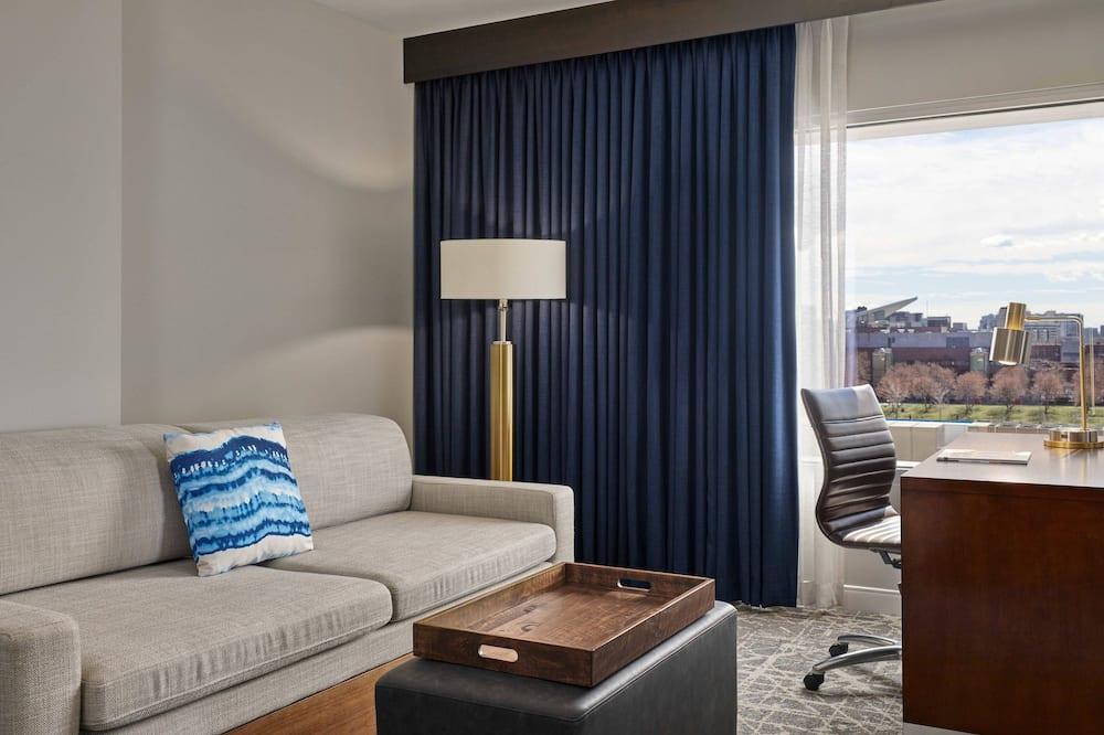 Suite Deluxe, 1 cama King size, para no fumadores - Habitación