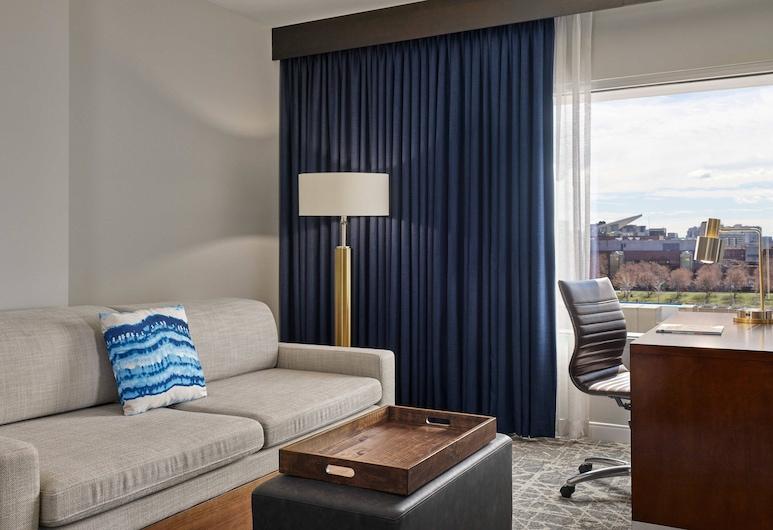 春丘丹佛市中心萬豪套房酒店, 丹佛, 豪華套房, 1 張特大雙人床, 非吸煙房, 客房