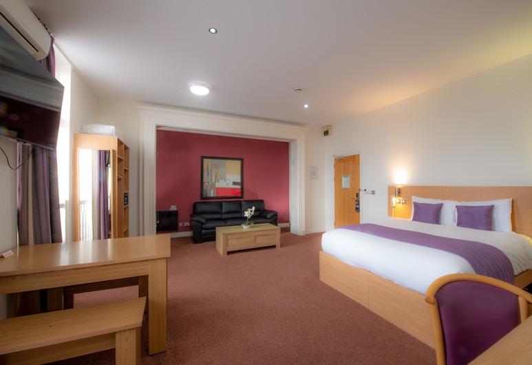 Connaught House Hotel, London, Deluxe sviit, Tuba