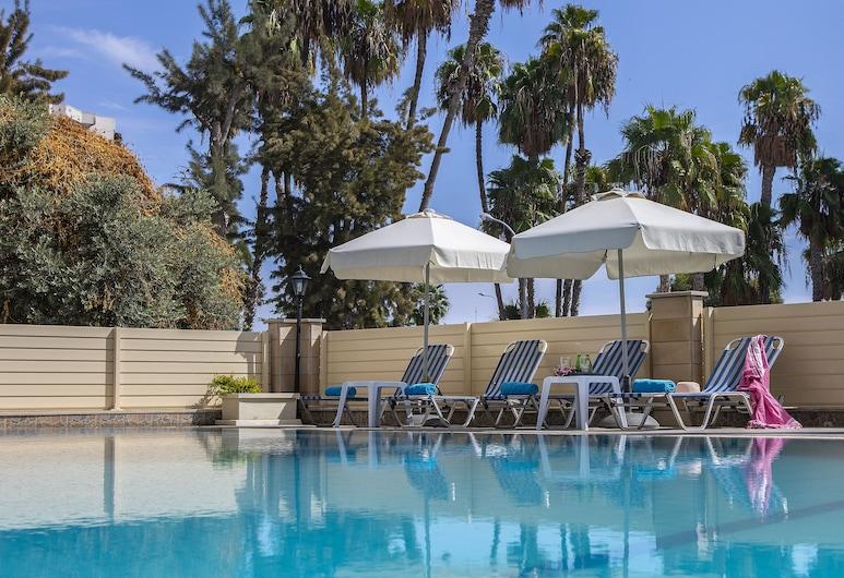 Kapetanios Limassol Hotel, Λεμεσός, Αίθριο/βεράντα