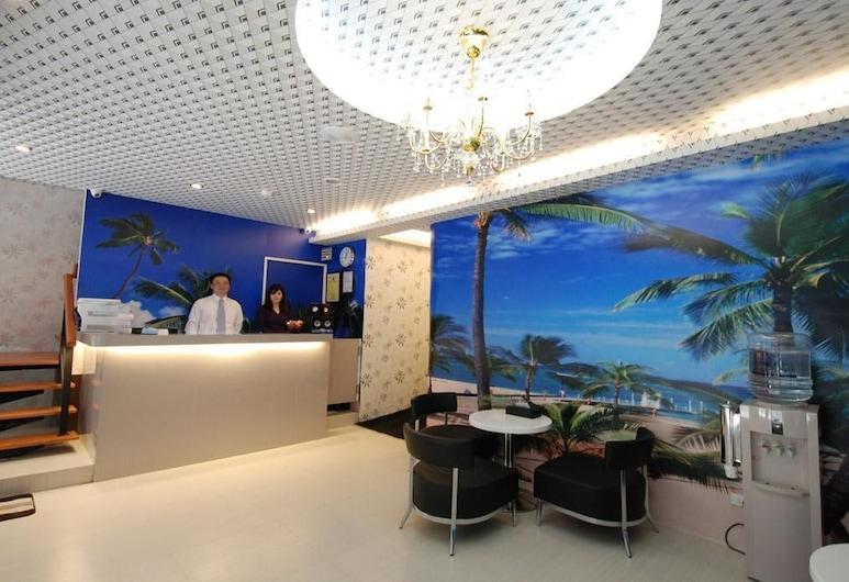 幸福旅店, 台北市, 櫃台