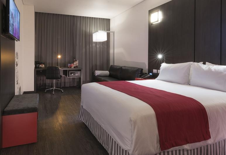 Ramada Encore Guadalajara, Tlajomulco de Zúñiga, Apartmá, dvojlůžko (200 cm), Pokoj