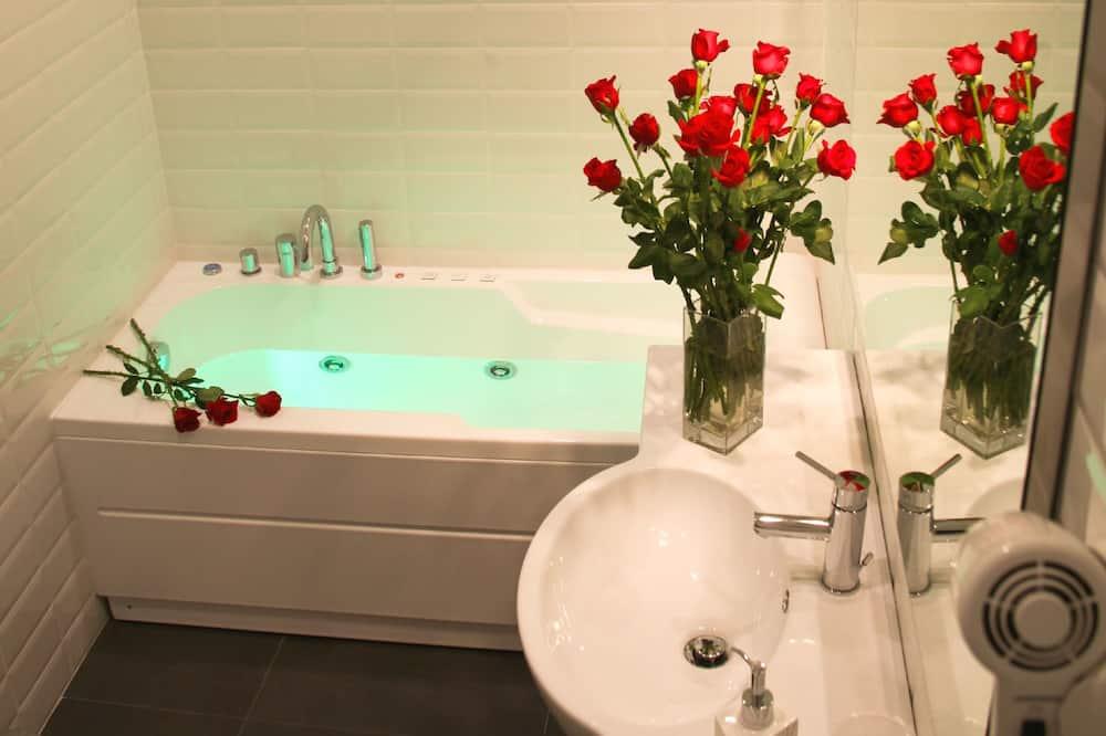 Deluxe-dobbeltværelse - boblebad - Badeværelse