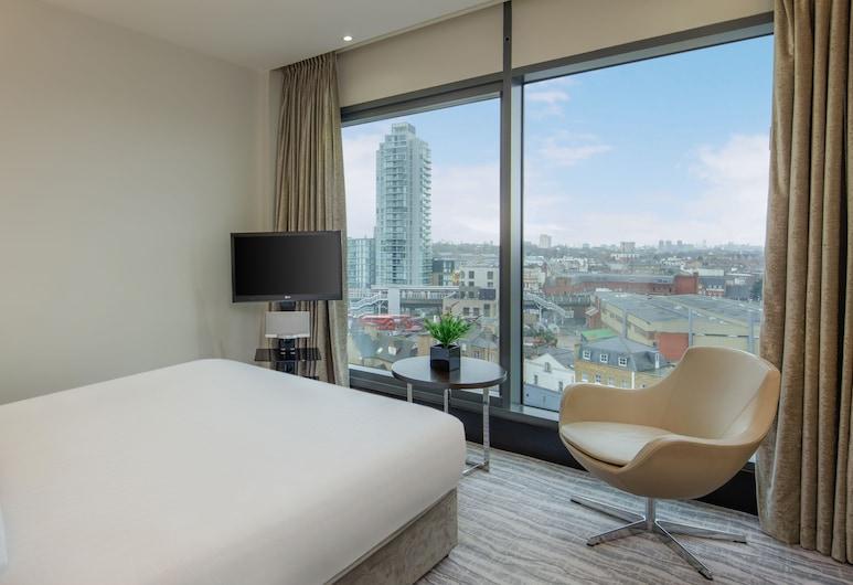 DoubleTree by Hilton London - Greenwich, London, Deluxe-Zimmer, 1King-Bett, Nichtraucher, Zimmer