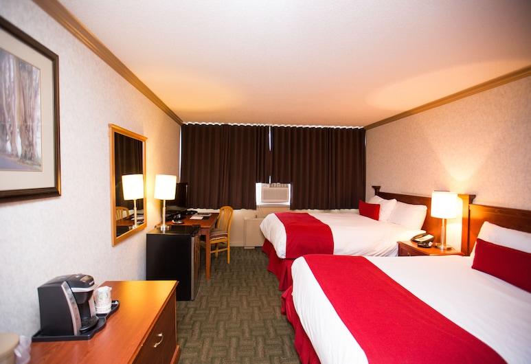 Sands Inn & Suites, Edmonton, Chambre Standard, 2 grands lits, fumeurs, Chambre