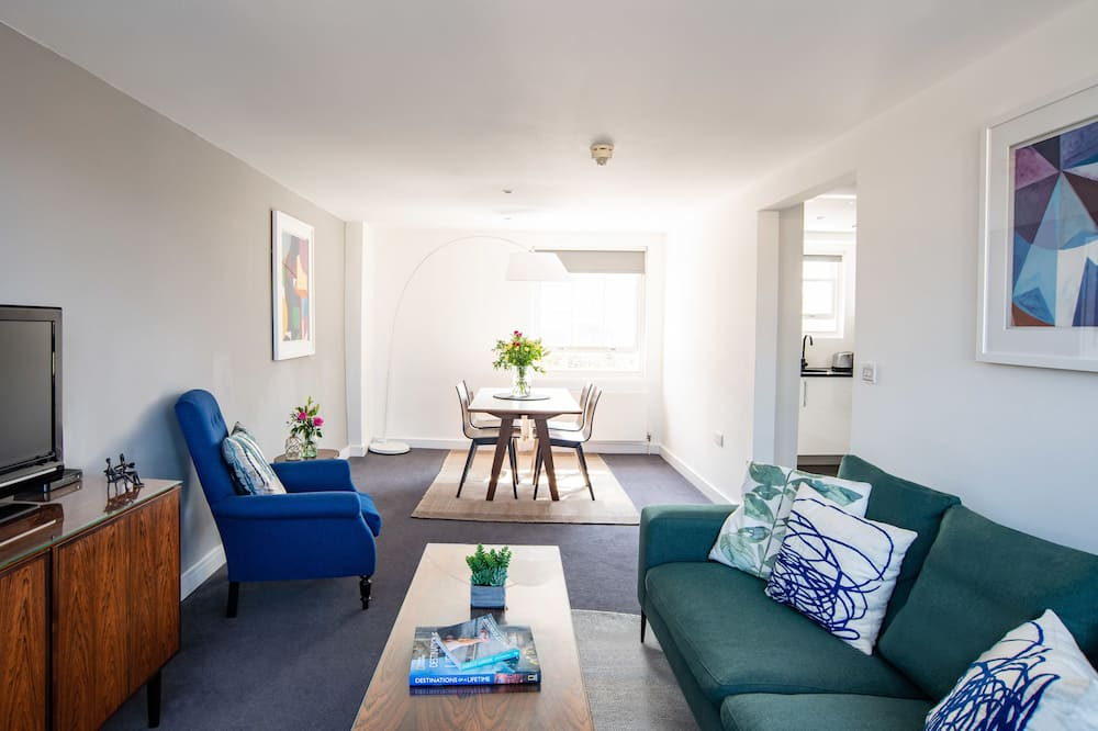 Апартаменти преміум-класу, 2 спальні - Житлова площа