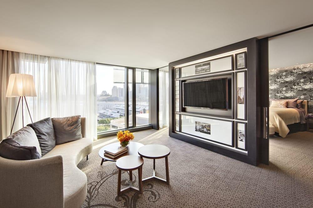 Svit (Jewel Suite Executive Lounge Access) - Vardagsrum