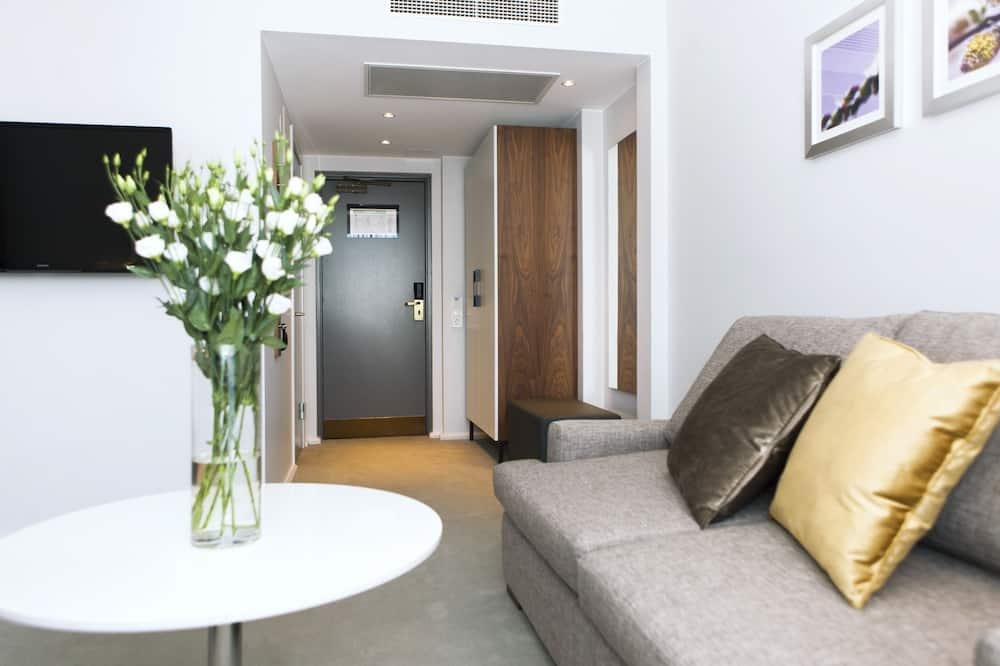 Familien-Doppelzimmer - Wohnbereich