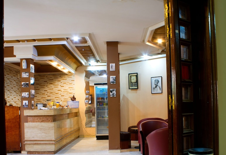 Hotel Halima, Nouakchott, Interior Entrance