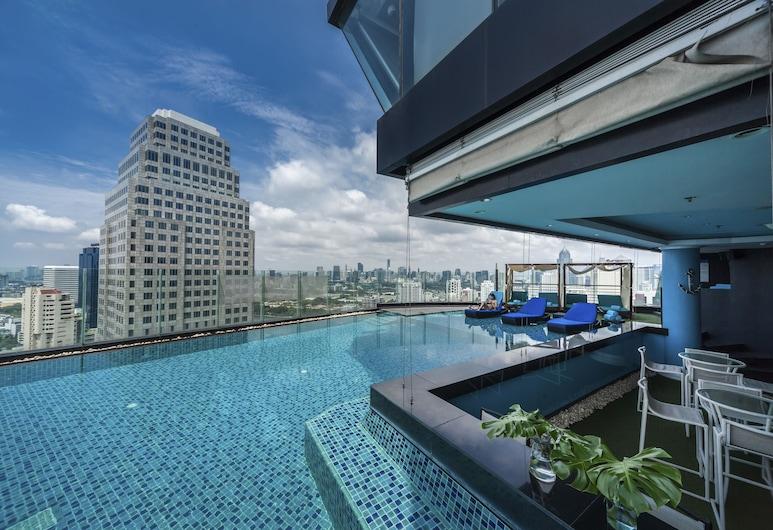 ザ コンチネント ホテル バンコク、コンパス ホスピタリティ, バンコク, 屋外プール