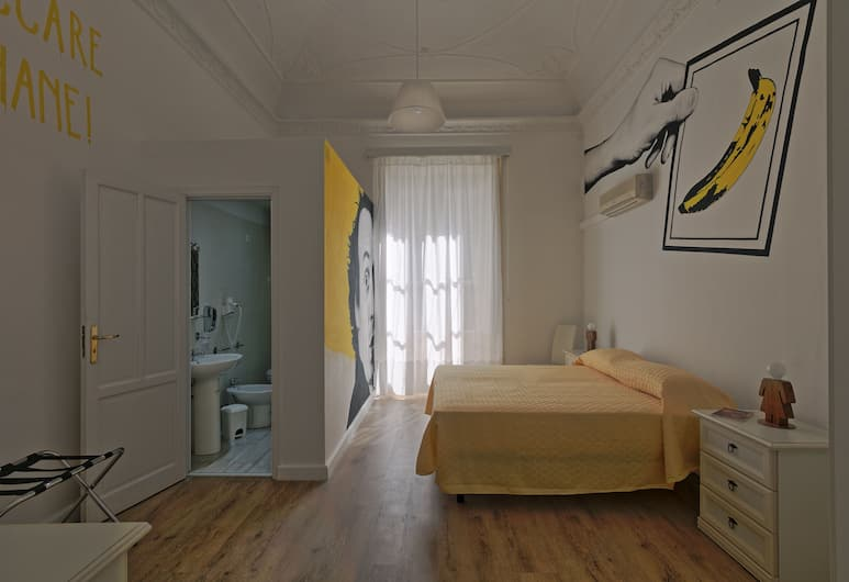Afea Art & Rooms, Palermo, Camera Deluxe con letto matrimoniale o 2 letti singoli, balcone, Camera