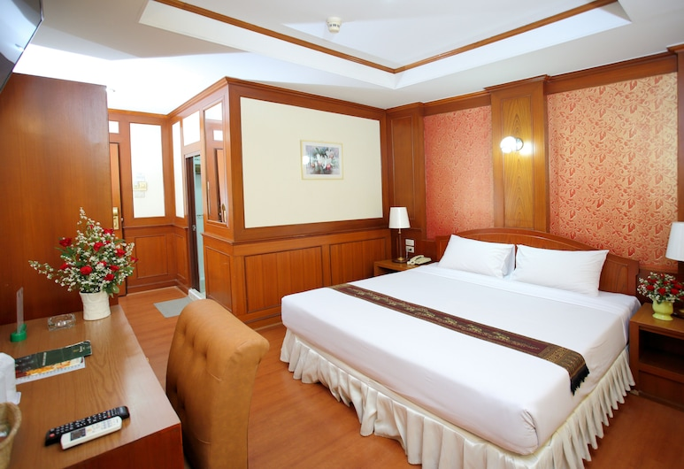 PJ Watergate Hotel, Bangkok, Standard Room 3rd floor (2 Single or 1 Double bed), Ausblick vom Zimmer