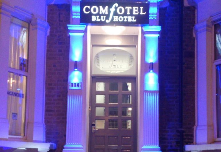 BLU 康福特爾酒店, 倫敦, 酒店入口