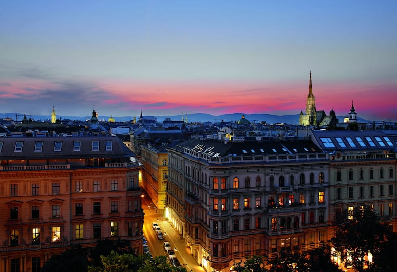 The Ritz-Carlton, Vienna, Viena, Vista aérea