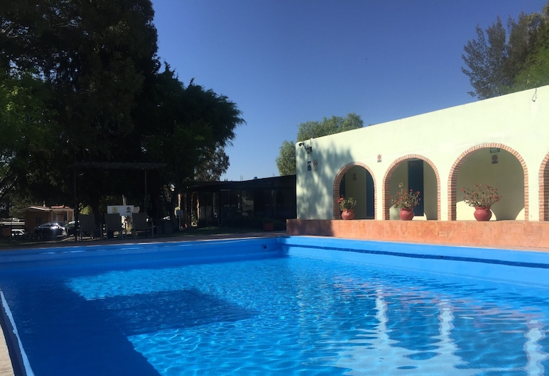 Hotel RV Park San Ramon, San Miguel De Allende, Εξωτερική πισίνα
