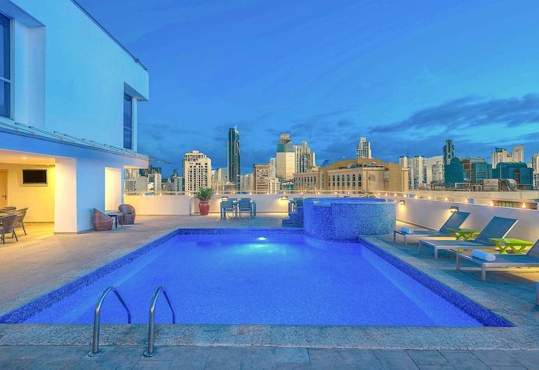 TRYP by Wyndham Panamá Centro, Cidade do Panamá, Piscina Exterior