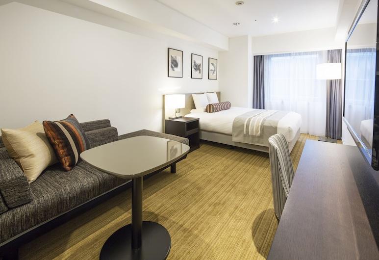 HOTEL MYSTAYS PREMIER Hamamatsucho, Tóquio, Quarto Superior, Não-fumadores (Queen, Eco Plan - No Linen Services), Quarto