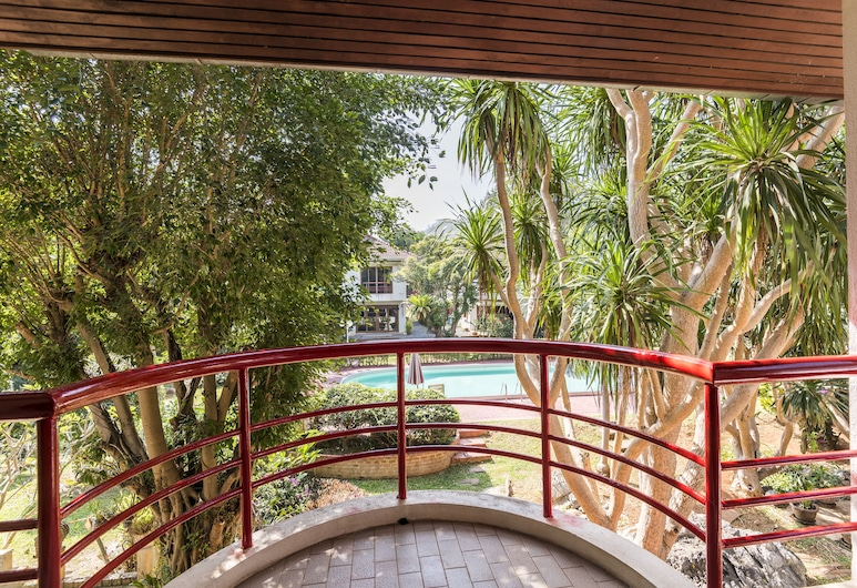 Eco Valley Lodge, Pak Chong, Pool Villa 2 Rooms, Queen Size Beds, DBL 4, Balkoni