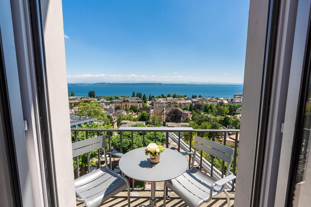 Chambre Double, balcon, vue lac - Balcon
